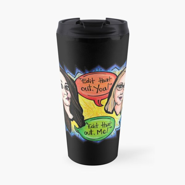 Edit That Out! Travel Mug
