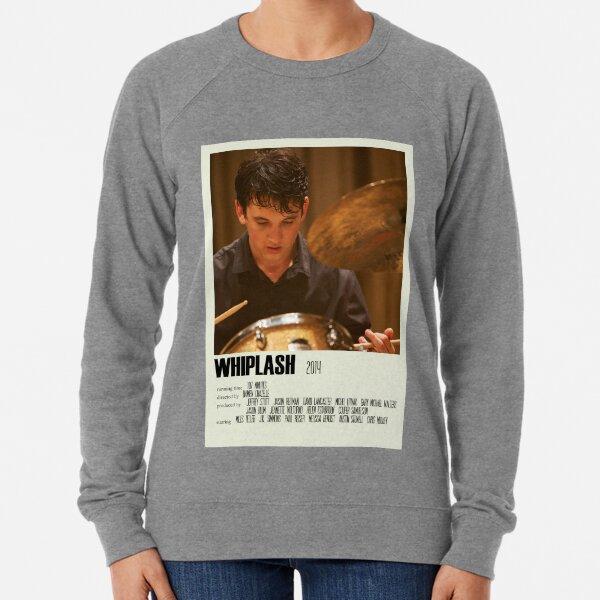 Whiplash Alternative Poster Art Movie Large (6) Lightweight Sweatshirt