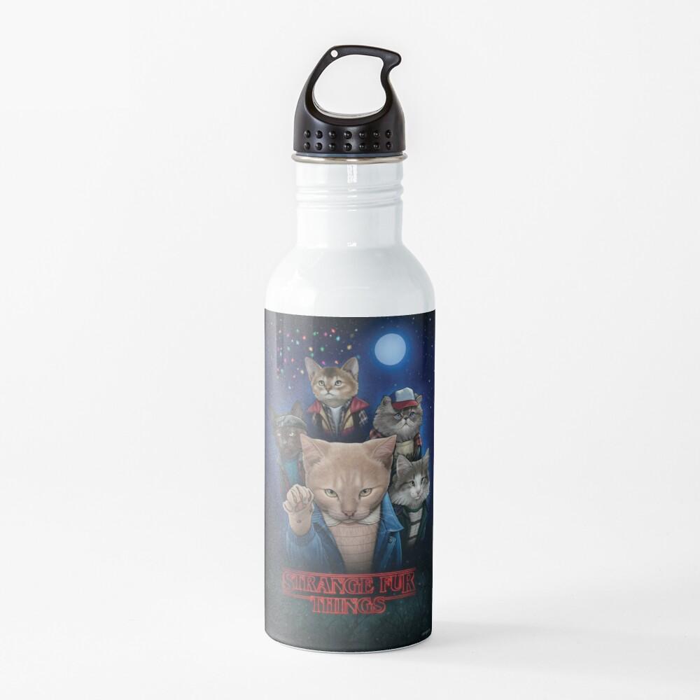 Strange Fur Things Water Bottle