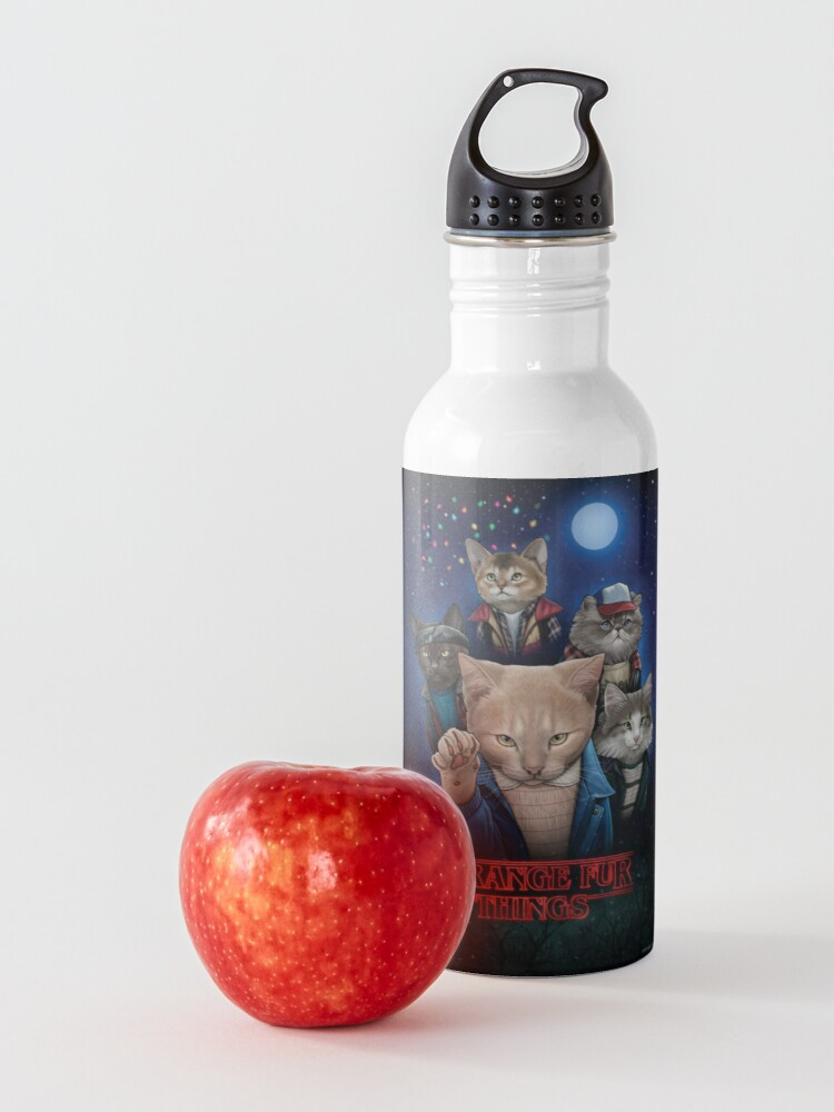 Alternate view of Strange Fur Things Water Bottle