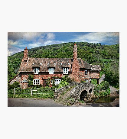 The Packhorse Bridge, Allerford, Somerset Photographic Print