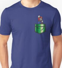 Mario Pipe Pocket Unisex T-Shirt