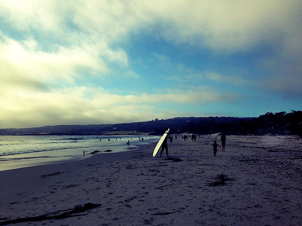Carmel Beach  by Isabelle DeCocco