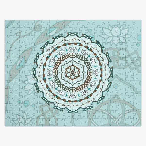 Lotus Weave Jigsaw Puzzle