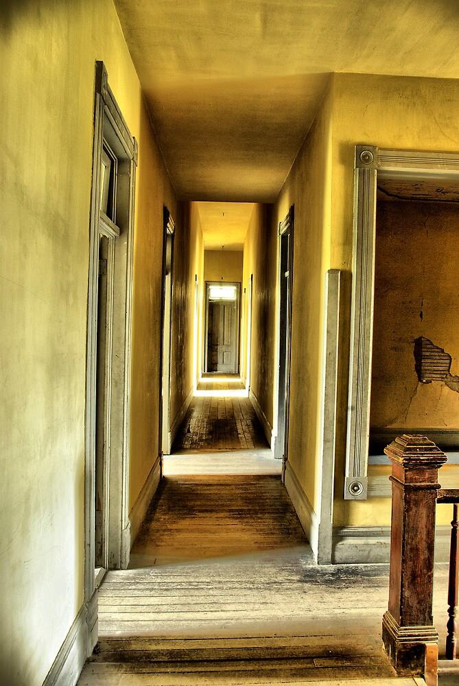 Down the Hallway by Coralea Breezley