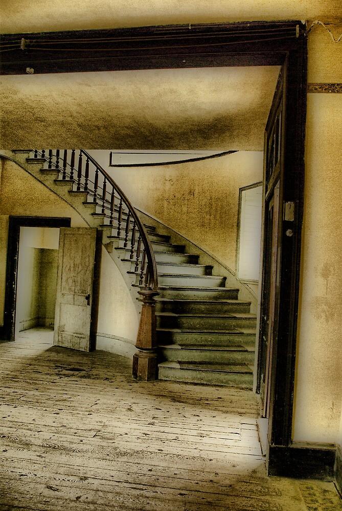 Hotel Lobby by Coralea Breezley