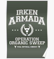 Irken Armada Poster