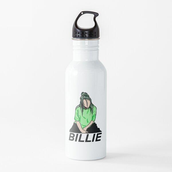 Billie Eilish Green Detailed Water Bottle
