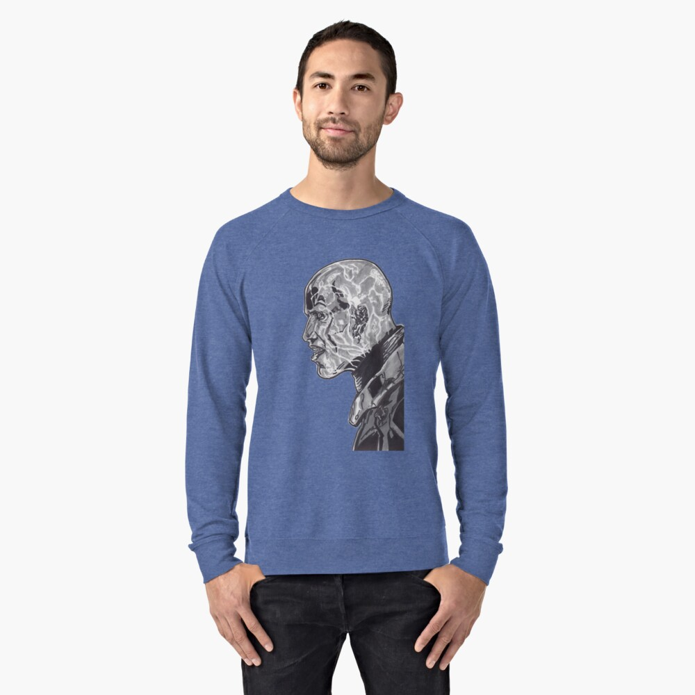 Electro Shcok Therapy Tee Lightweight Sweatshirt Front