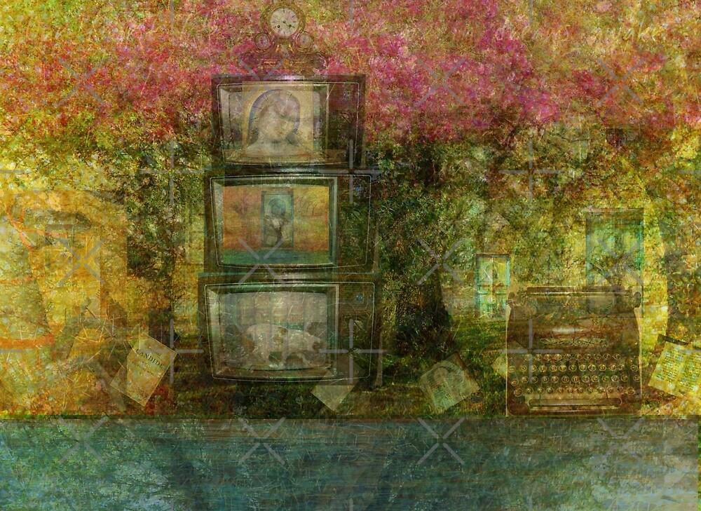 The Forest Landscape Meditation  by goldenslipper