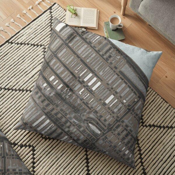 Upper East Side, NYC Floor Pillow