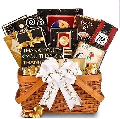 Expressing Gratitude Gift Basket by designurgift