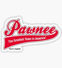 Pawnee (Parks & Recreation) Sticker