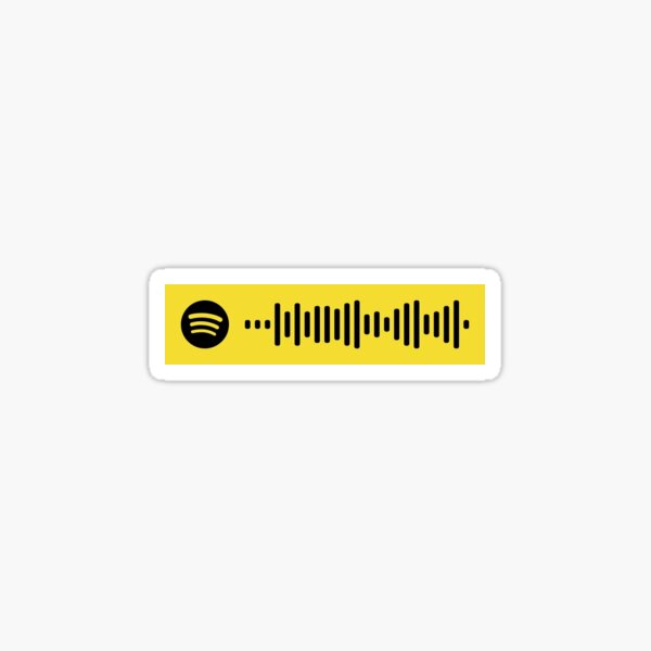 The Killers spotify code Sticker