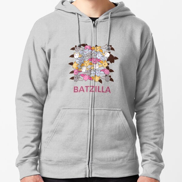 Batzilla Zipped Hoodie