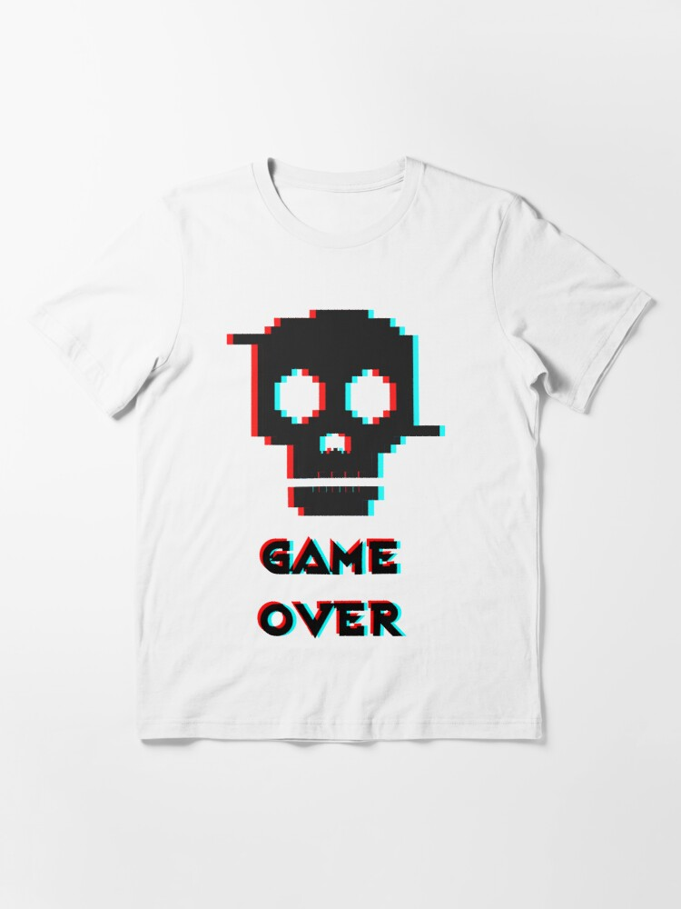 Alternate view of Game over - Essential T-Shirt