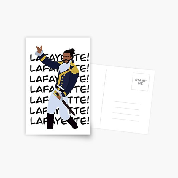 Lafayette (Favorite Fighting Frenchman) Postcard