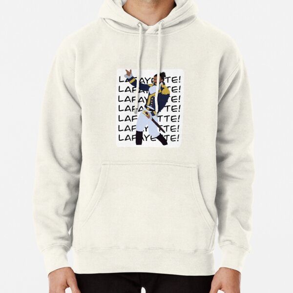 Lafayette (Favorite Fighting Frenchman) Pullover Hoodie