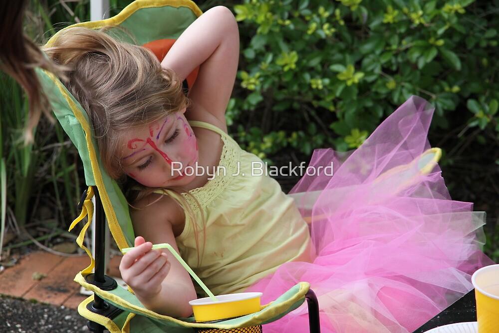 A Tired Fairy by aussiebushstick
