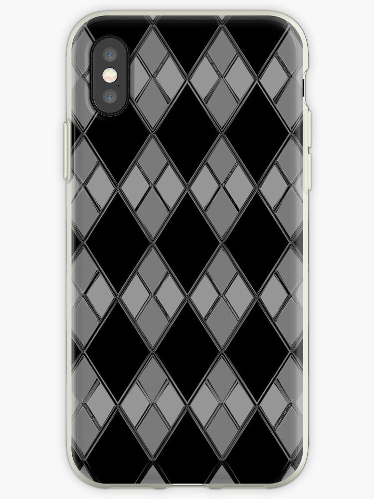 Gray & Black Checkers by mputrus