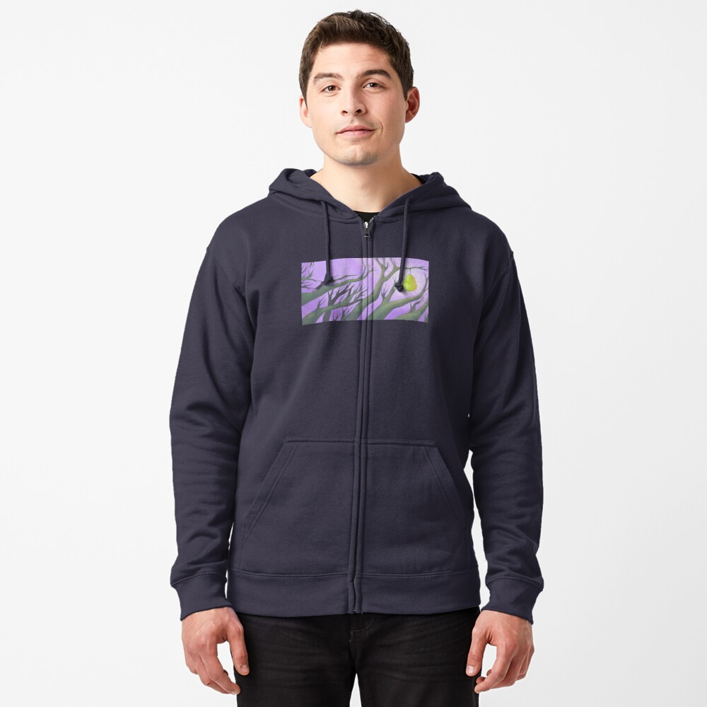 Crown Shyness Zipped Hoodie