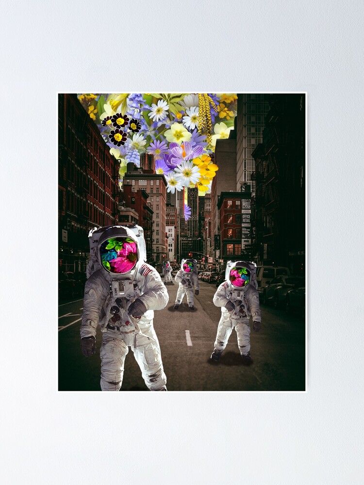 Alternate view of Astronaut City  Poster