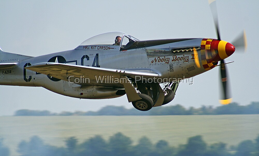 "P-51D Mustang ""Nooky Booky IV"" - Duxford Flying Legends 2013 by Colin  Williams Photography"