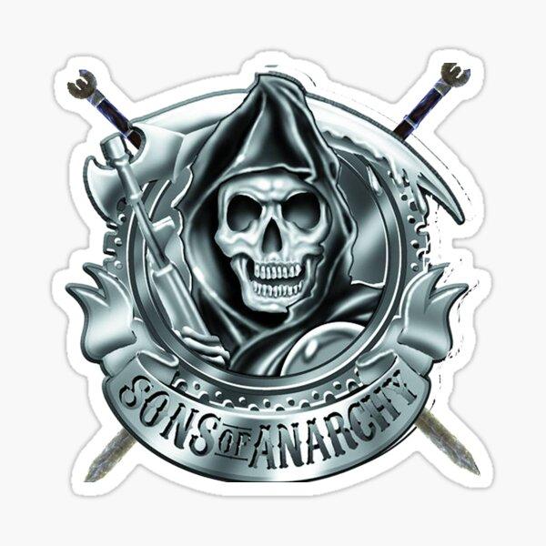 Crâne Gun Sticker