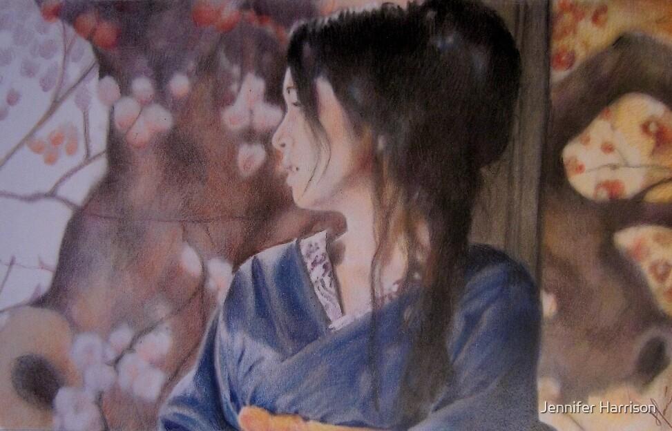 The Blue Kimono by Jennifer Harrison