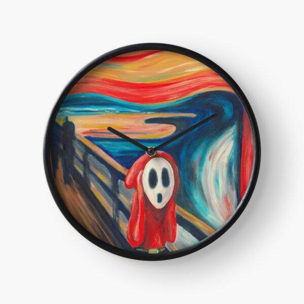 Shy Guy Scream Clock
