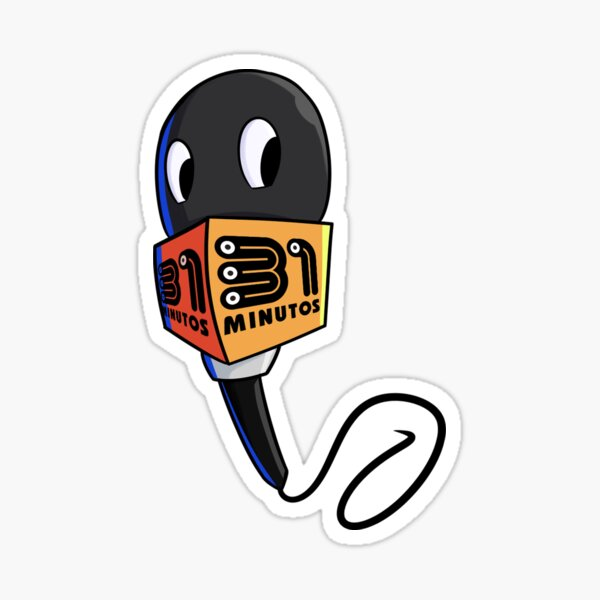 The Microphone is one of the characters in the iconic Chilean program 31 Minutos Sticker