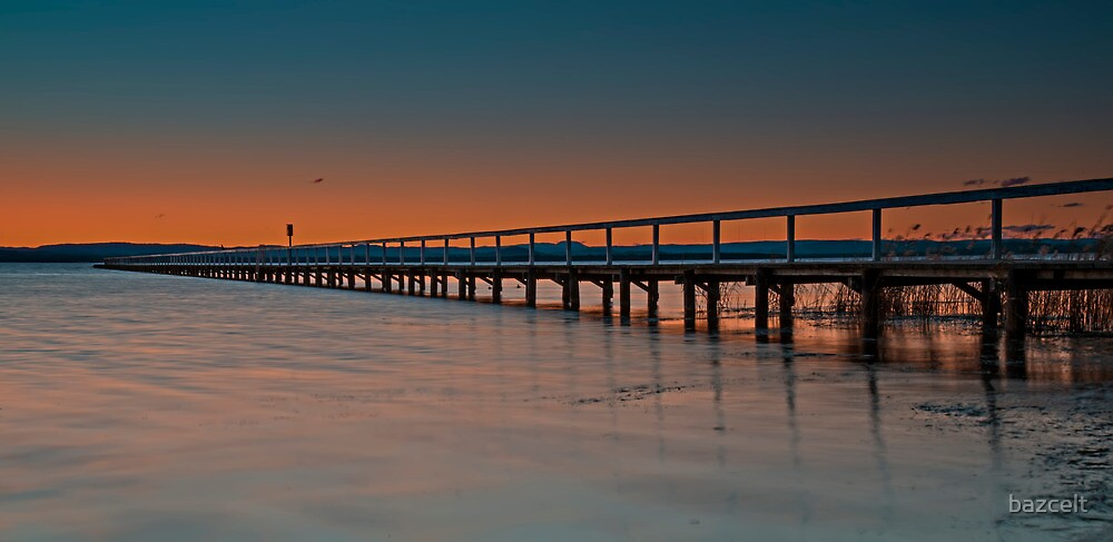 Long Jetty Sunset by bazcelt