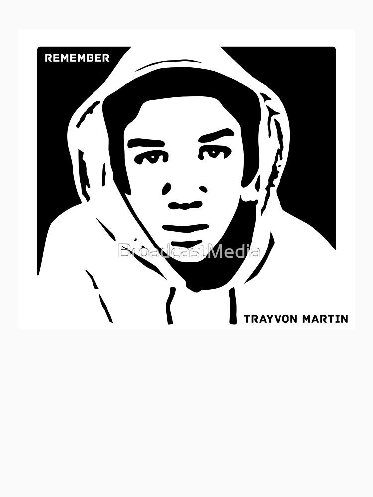 Remember Trayvon Martin T-Shirt by BroadcastMedia