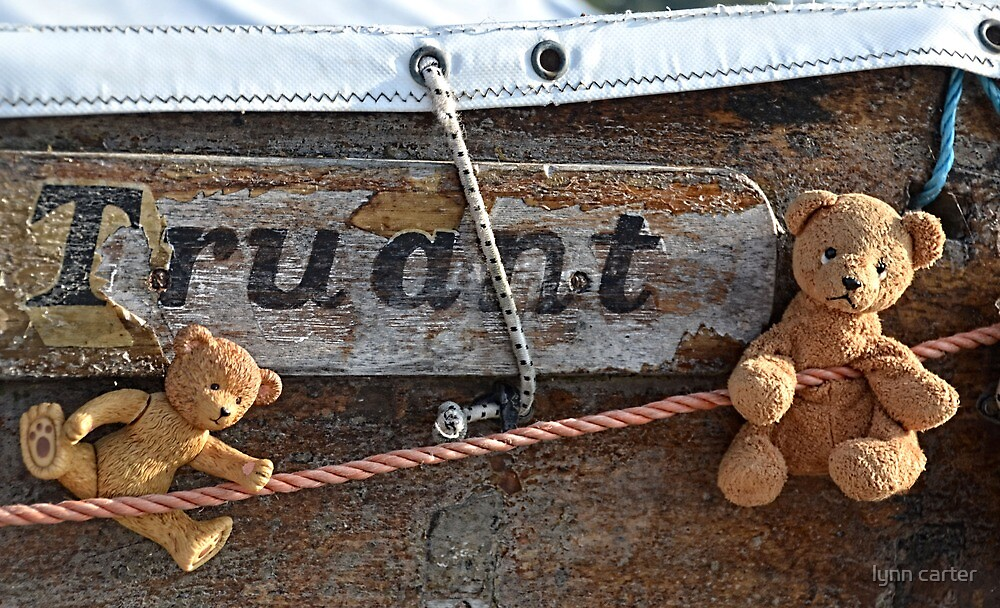 Those Naughty Bears Are Playing Truant Again by lynn carter