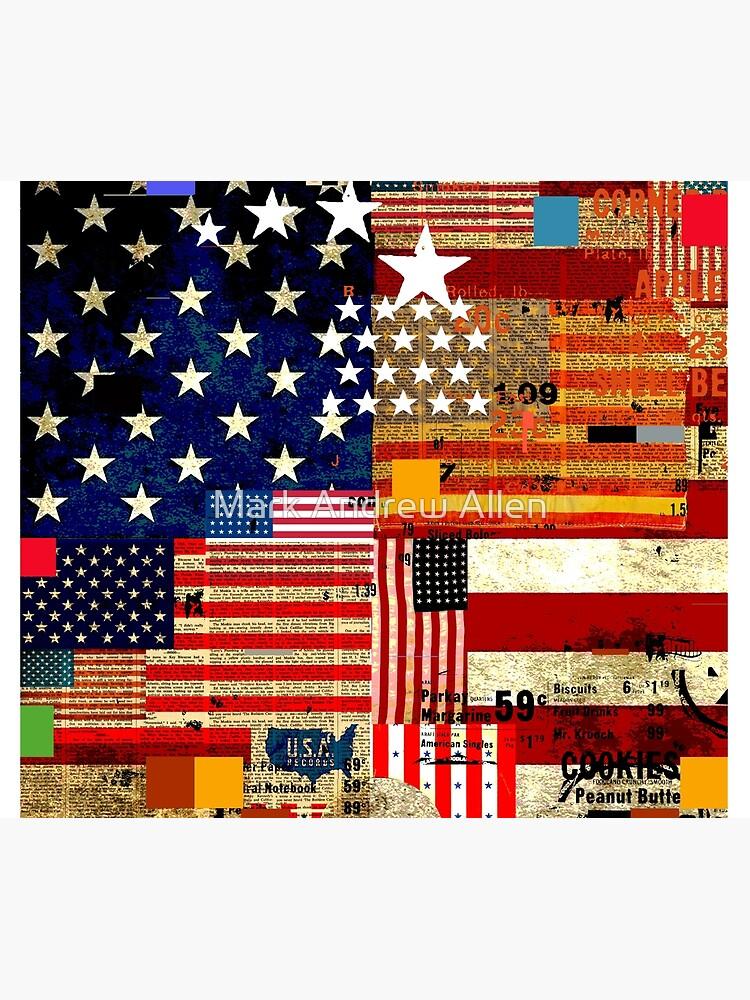 AMERICAN FLAG by MarkAndrewAllen