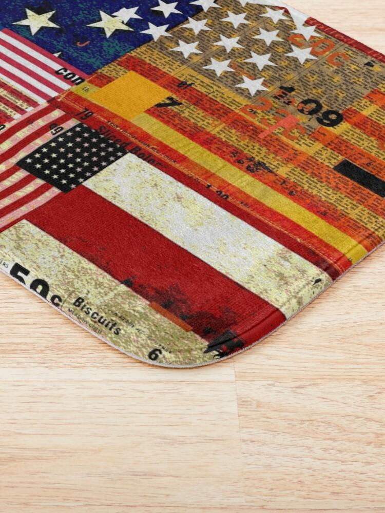 Alternate view of AMERICAN FLAG Bath Mat
