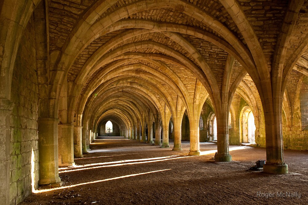 Fountains Abbey by Roger McNally
