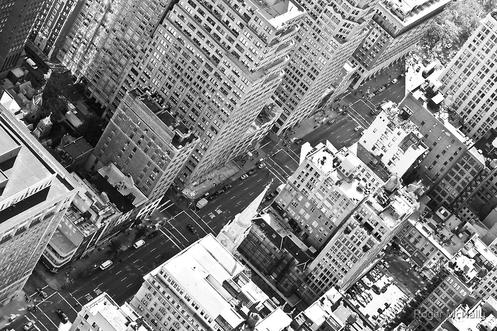 Midtown Manhatten by Roger McNally
