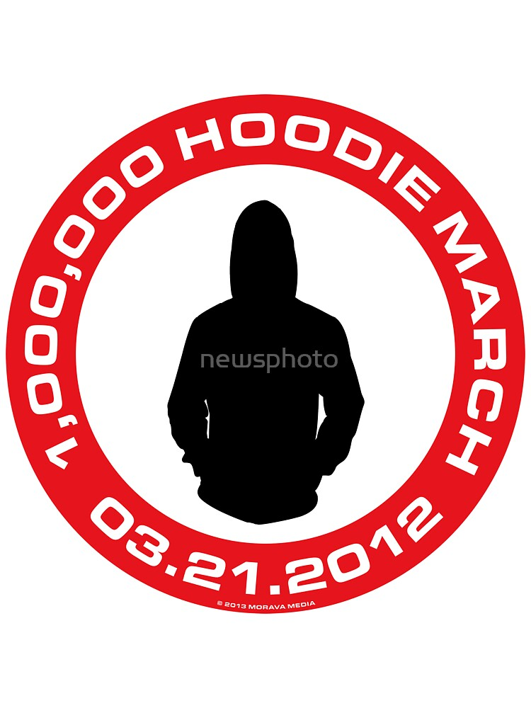 Million Hoodie March by newsphoto