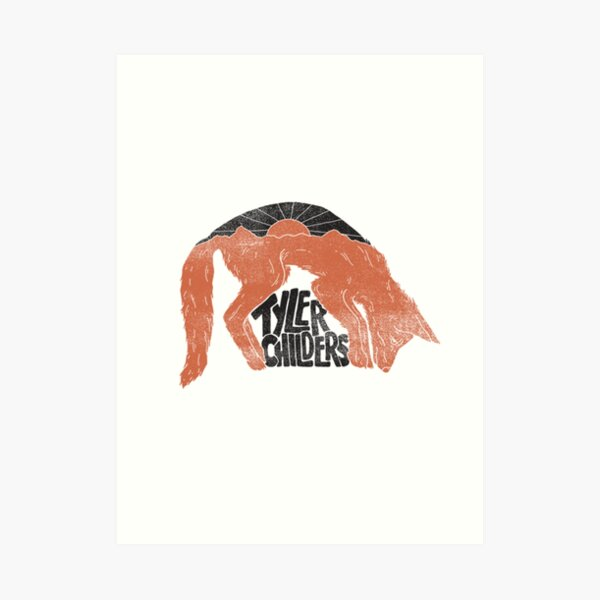Tyler Childers -Fox- Art Print