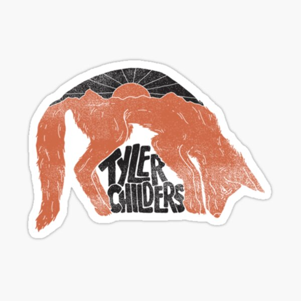 Tyler Childers -Fox- Sticker