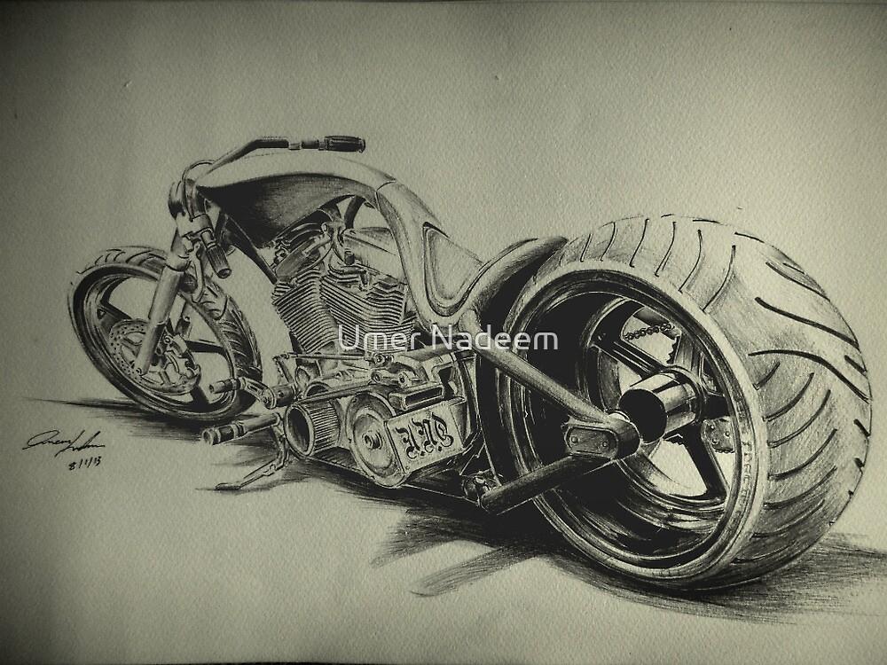 chopper bike by Umer Nadeem