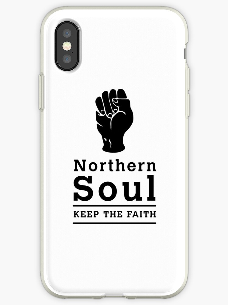 Northern Soul - Keep the Faith (White) by Dammo