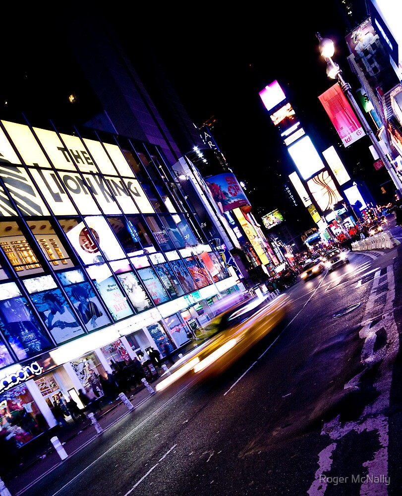 Times Square by Roger McNally