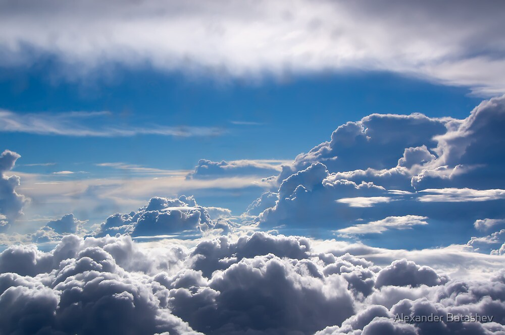 Clouds by Alexander Batashev
