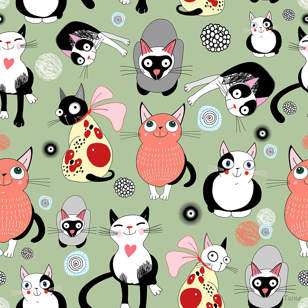 funny cats by Tanor