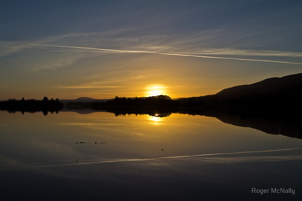 Menteith Sunset by Roger McNally