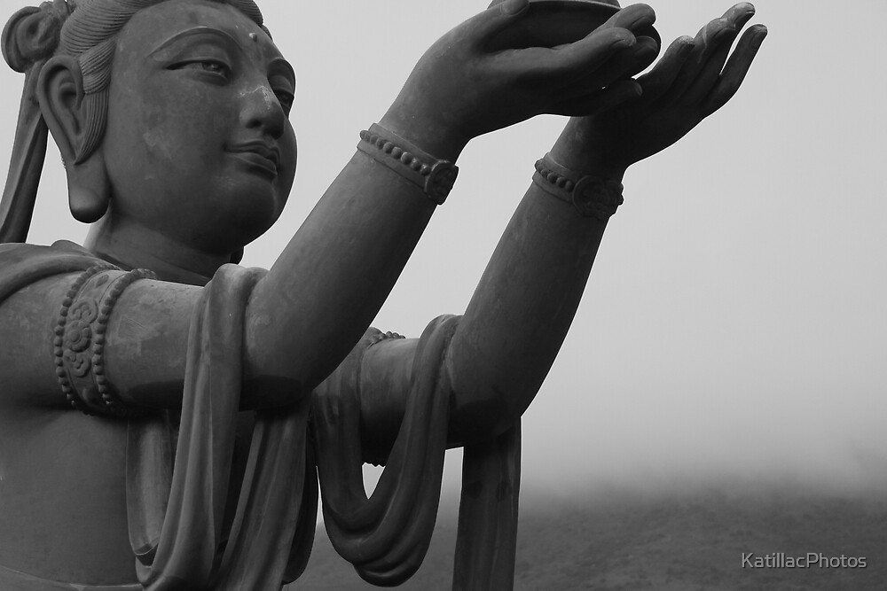 Offering to Big Buddha by KatillacPhotos