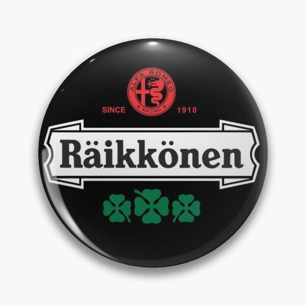 Kimi Raikkonen Alfa Romeo badge. Pin