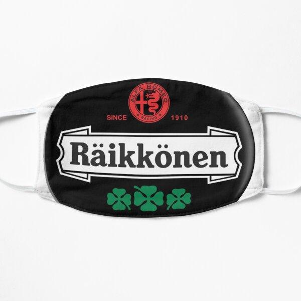 Badge Kimi Raikkonen Alfa Romeo. Masque sans plis